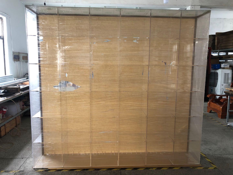 杰峰大型有机玻璃展示柜