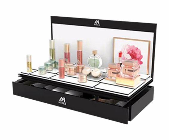 杰峰亚克力化妆品放置盒定制