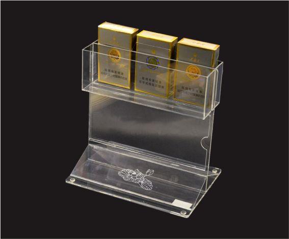杰峰亚克力烟盒放置台